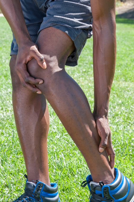 man who needs treatment for Achilles tendonitis